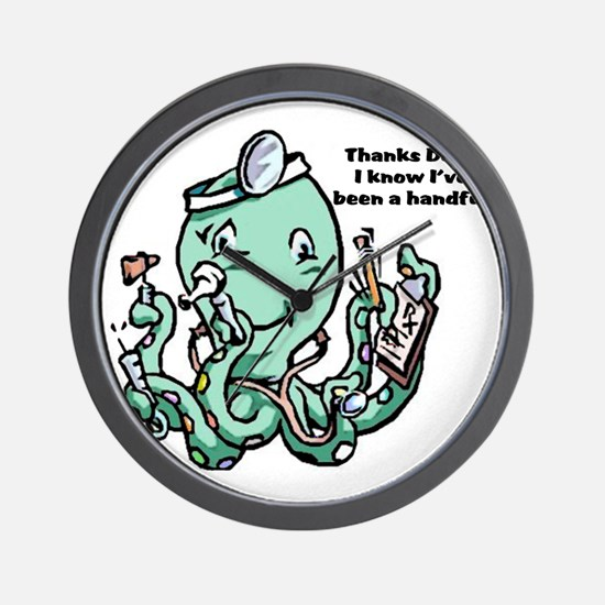 dr Octopus Wall Clock