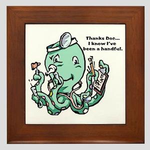 dr Octopus Framed Tile