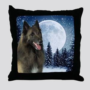 BTWinterMousepad Throw Pillow