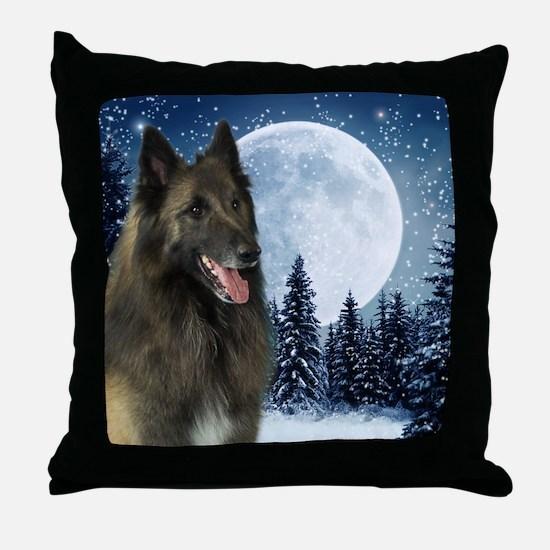 BTWinterMousepad Throw Pillow