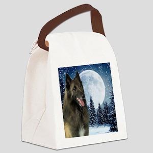 BTWinterMousepad Canvas Lunch Bag
