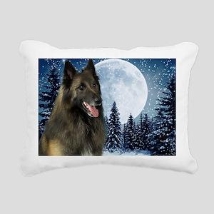 BTWinterMousepad Rectangular Canvas Pillow