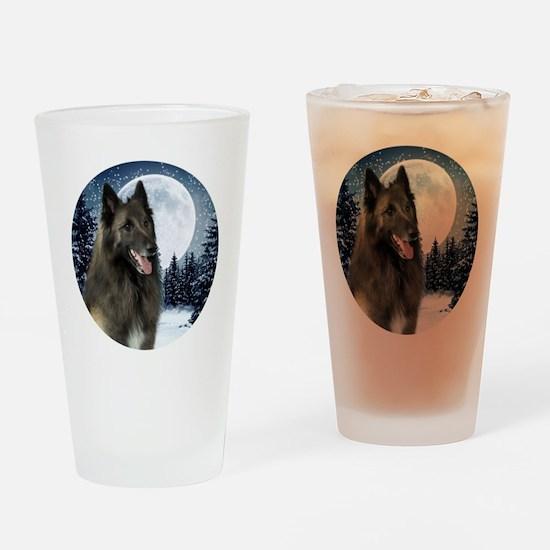 BTWinterShirt Drinking Glass