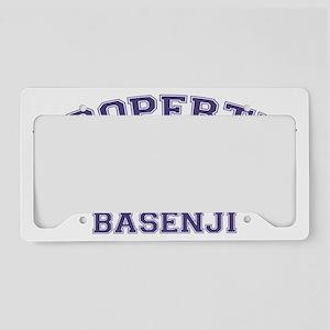 basenjiproperty License Plate Holder