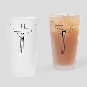 Chris Drinking Glass