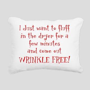 Wrinkle Free! Rectangular Canvas Pillow