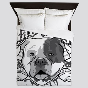 American Bull Dog Queen Duvet