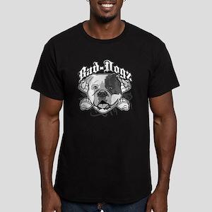 American Bull Dog Men's Fitted T-Shirt (dark)