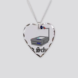 Old School Necklace Heart Charm