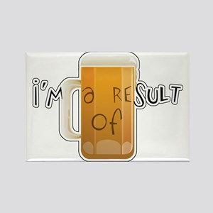 beerbaby Rectangle Magnet