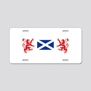 Edinburgh Scotland Aluminum License Plate