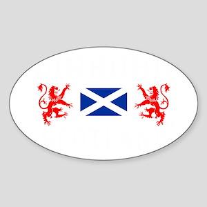 Edinburgh Scotland Sticker (Oval)