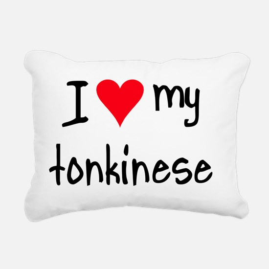 ihearttonkinese Rectangular Canvas Pillow