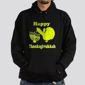 Happy Thanksukkah 3 yellow Hoodie
