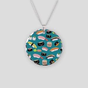 sushiflipflops Necklace Circle Charm