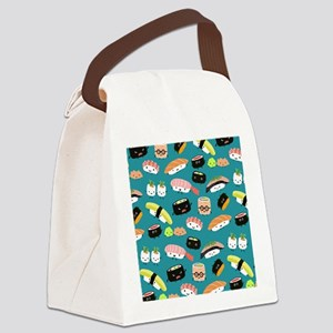 sushiflipflops Canvas Lunch Bag