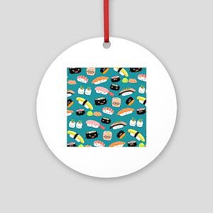 sushiflipflops Round Ornament