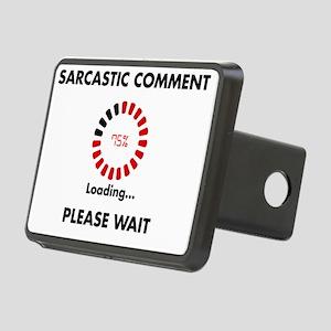sarcasm Rectangular Hitch Cover