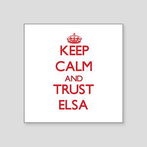 Keep Calm and TRUST Elsa Sticker