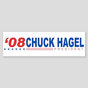 Chuck Hagel 2008 Bumper Sticker