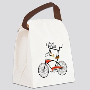 Bicycle Canvas Lunch Bag