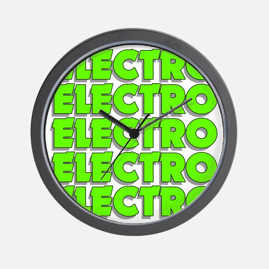 ElectroMad Wall Clock