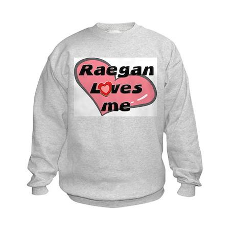 raegan loves me Kids Sweatshirt