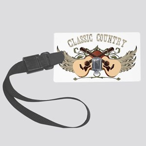 classic-country-dark Large Luggage Tag