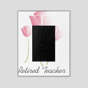 Retired teacher tulips Picture Frame