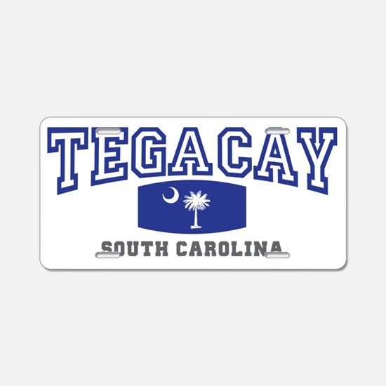 Tega Cay South Carolina Sta Aluminum License Plate