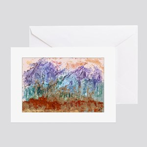 Taos Mountain Memories Greeting Card