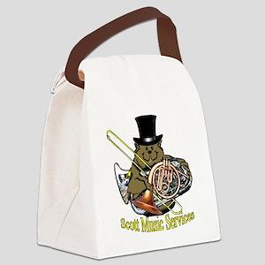 sms-groundhog-dark Canvas Lunch Bag