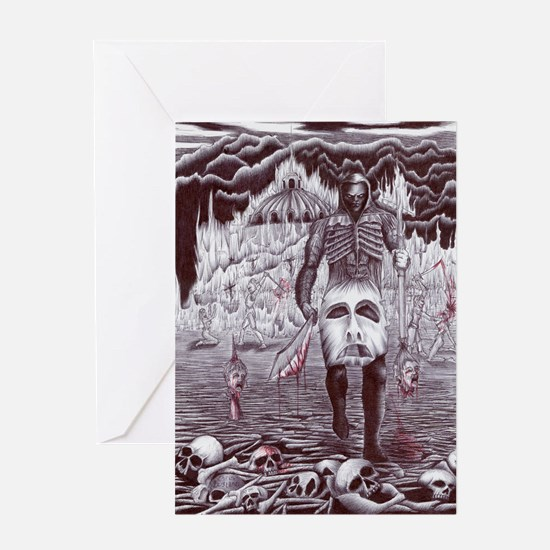 Dead Land Greeting Card