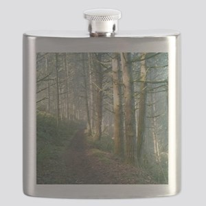 Nature Trail in the Morning Flask
