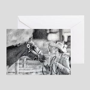 Amateur Showmanship Quarter Horse Greeting Cards