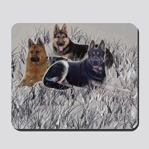 german shepherd pillowcase Mousepad