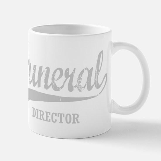Funeral Director for dark Mug