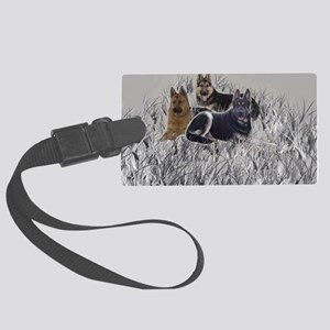 gsd pillowcase2 Large Luggage Tag