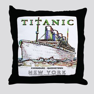 TG8 Neon  White 14x14-4 Throw Pillow