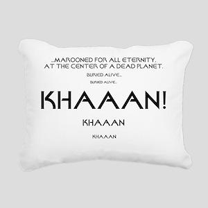 KHAAAN Rectangular Canvas Pillow