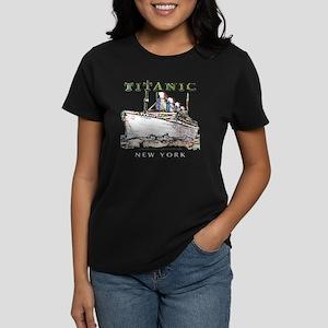 TG8NeonWhiteTRANS14x14-4 Women's Dark T-Shirt