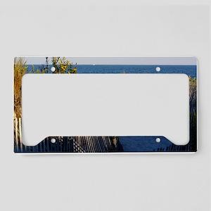 dune path License Plate Holder