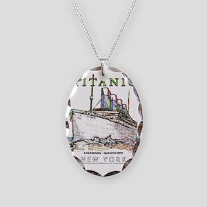 TG8TwinDuvetTRANS19x24 Necklace Oval Charm
