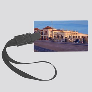 OC music pier for store Large Luggage Tag