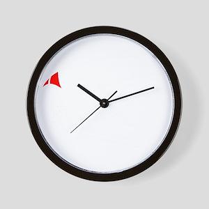 grand sport dark Wall Clock