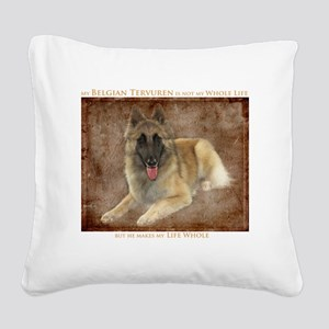 BTHeWholeLife Square Canvas Pillow