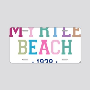 Myrtle Beach 1938 B Aluminum License Plate