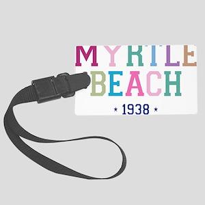 Myrtle Beach 1938 B Large Luggage Tag