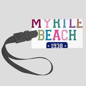 Myrtle Beach 1938 W Large Luggage Tag