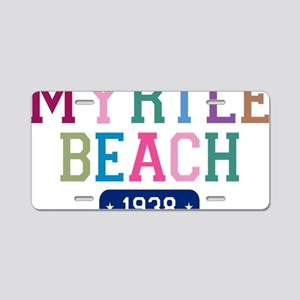 Myrtle Beach 1938 W Aluminum License Plate